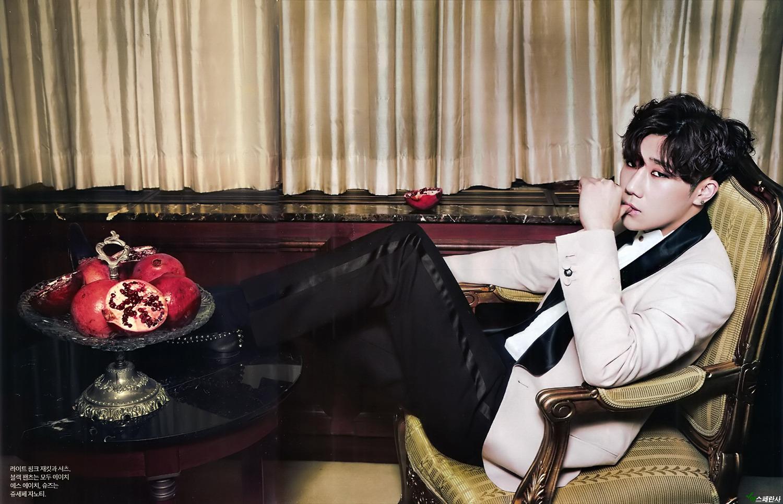 SCANS] 2015 Singles Magazine July Issue – Sunggyu | Infinite Updates